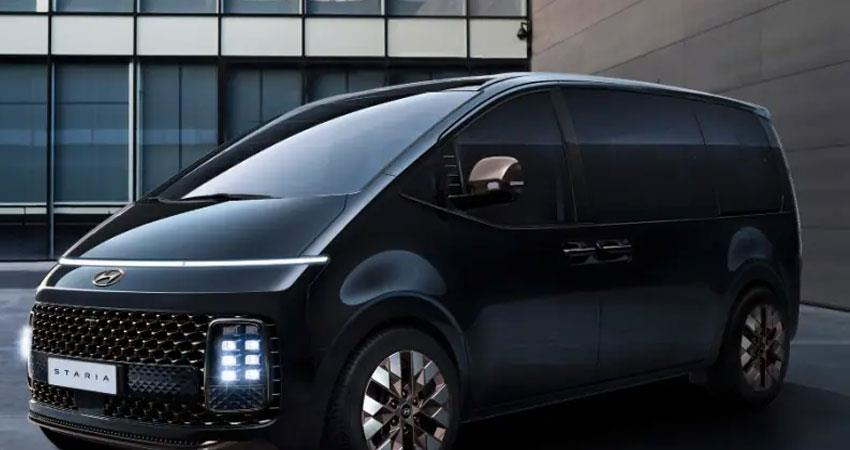 more information about the design of hyundai staria came to light anjsnt