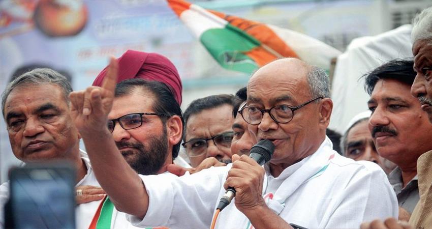 digvijaya singh controversial statement bhagwa color clothes