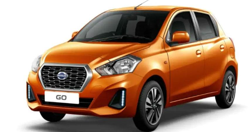 Datsun India launch go bs6 ANJSNT