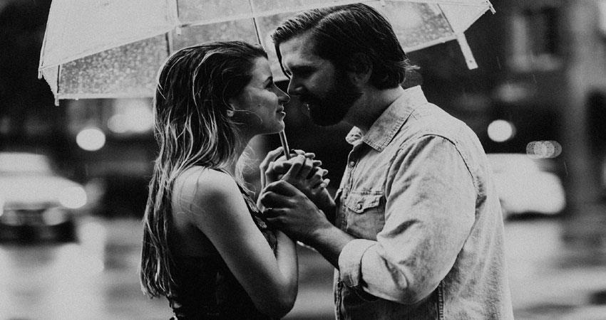 why couple get romantic in rainy season