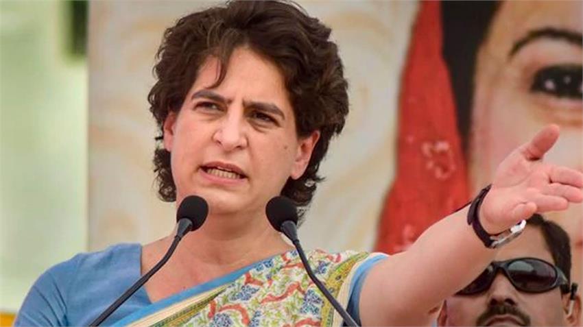 priyanka gandhi congress jibe up yogi bjp govt for buses for migrant workers laborers rkdsnt