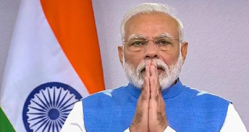 pm narendra modi will talk tomorrow with all state cms sobhnt