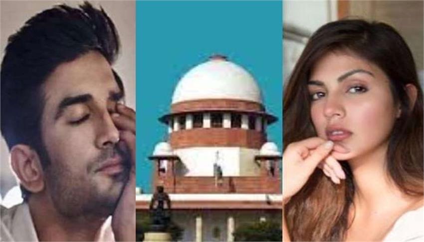 riya filed affidavit in sc regarding news sushant singh rajput case anjnst