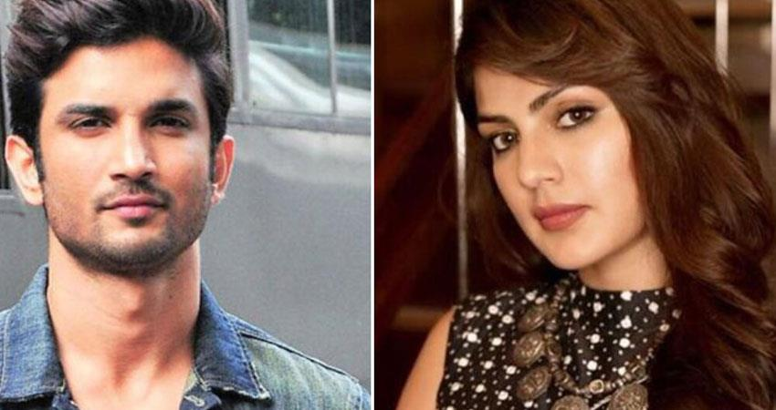 who is au rhea chakraborty calls many times sushant singh rajput case anjsnt