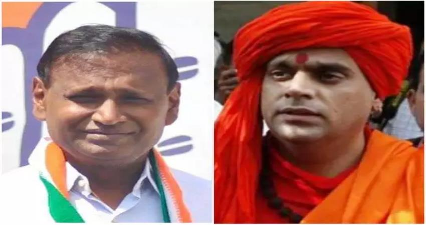 saints angry with udit raj statement said congress opposes hindu thinking pragnt