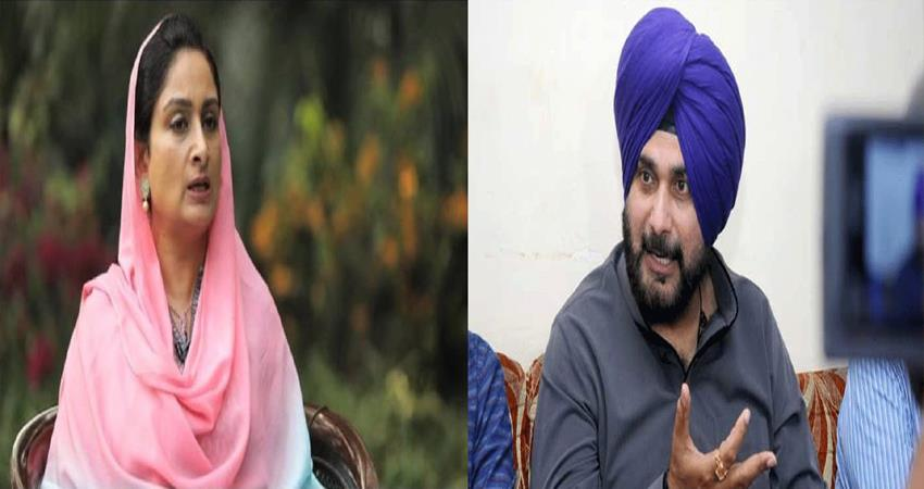 harsimrat kaur badal attacks on navjot singh sidhu sikh girl forcibly converted to islam pakistan