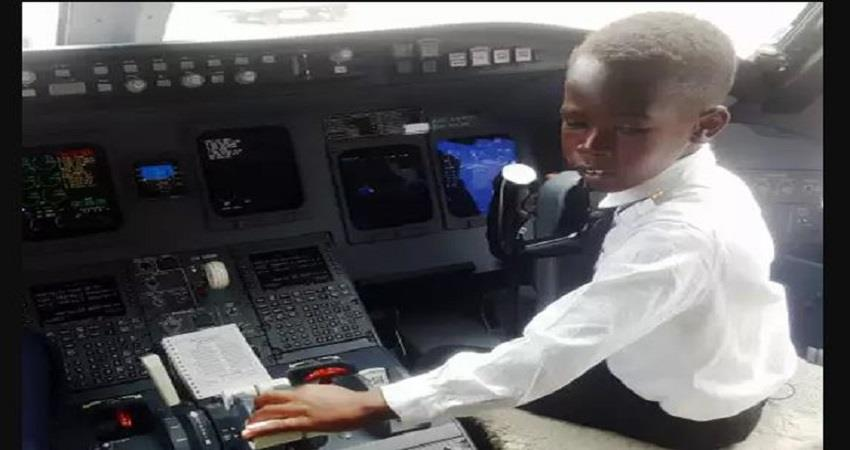 ugandan boy captain flown cessna plane whose role  elon musk prsgnt
