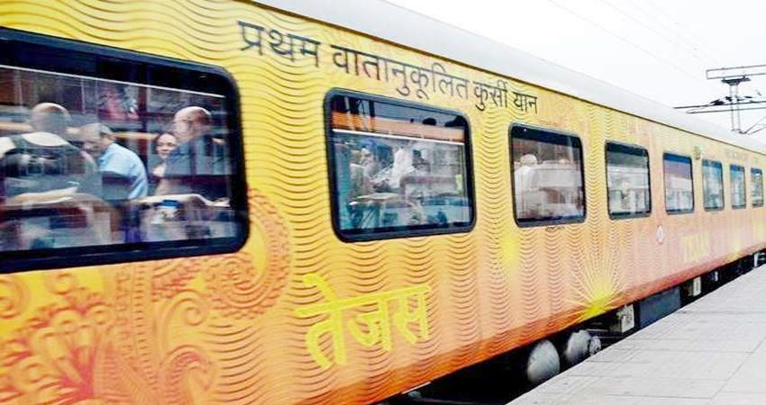 country''''s first private train first month profit of 70 lakhs