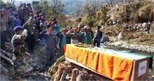 हिमाचल का जवान शहीद, सैन्य प्रशिक्षण के दौरान हुआ हादसा