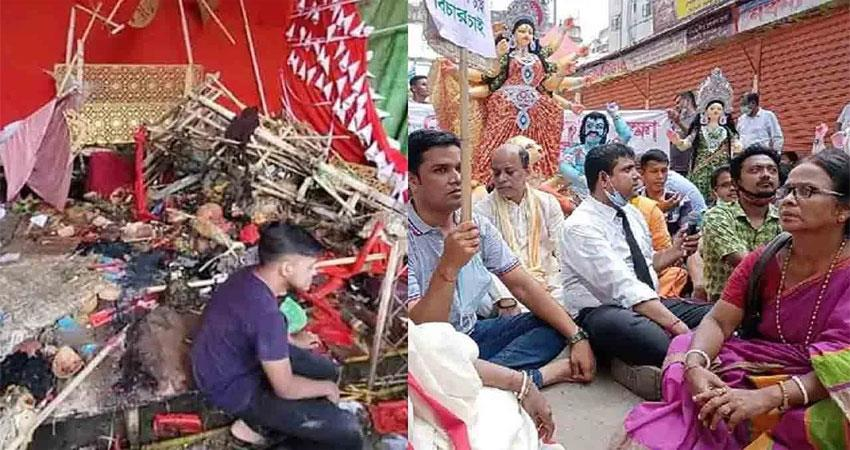 temples attacked during durga puja in bangladesh, three killed musrnt