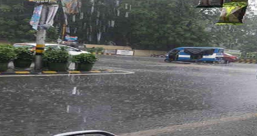 Changed weather in Dehradun with rain Sohsnt