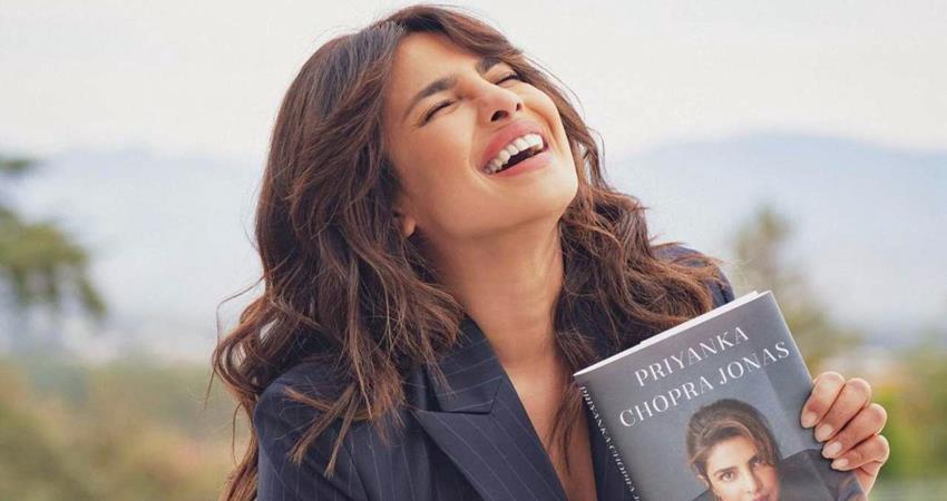 priyanka chopra releases her book unfinished sosnnt