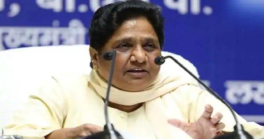 mayawati said that when bsp comes to power a statue of parashuram will be built sohsnt