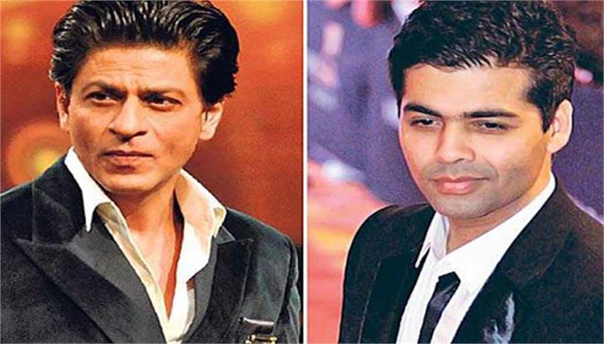 karan johar did not like shahrukh khan at one time anjsnt