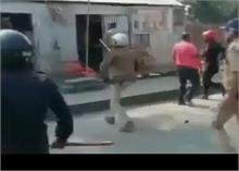 पश्चिम बंगाल में फिर आमने- सामने आई TMC और BJP, पुलिस ने भांजी लाठियां
