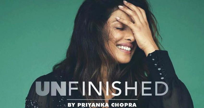 priyanka chopra is working on her audiobook unfinished sosnnt