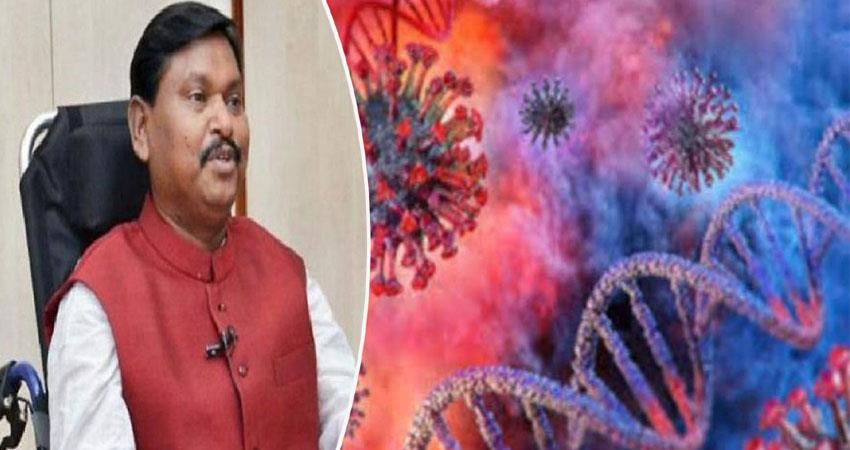 home minister arjun munda caught in corona isolated anjsnt