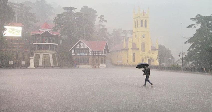 weather changed in himachal pradesh due to heavy rains  albsnt