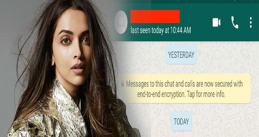 deepika padukone is the admin of the whatsapp group in drug chat anjsnt