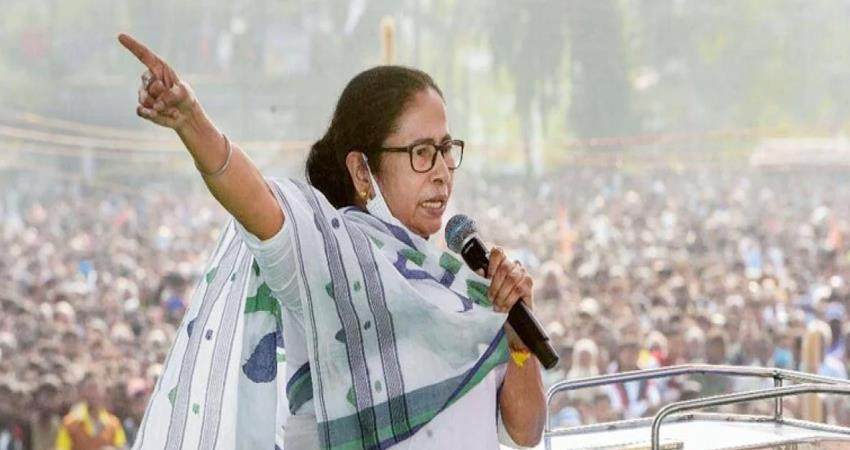 cm mamata accuses bjp party is creating communal struggle to win elections in bengal prshnt