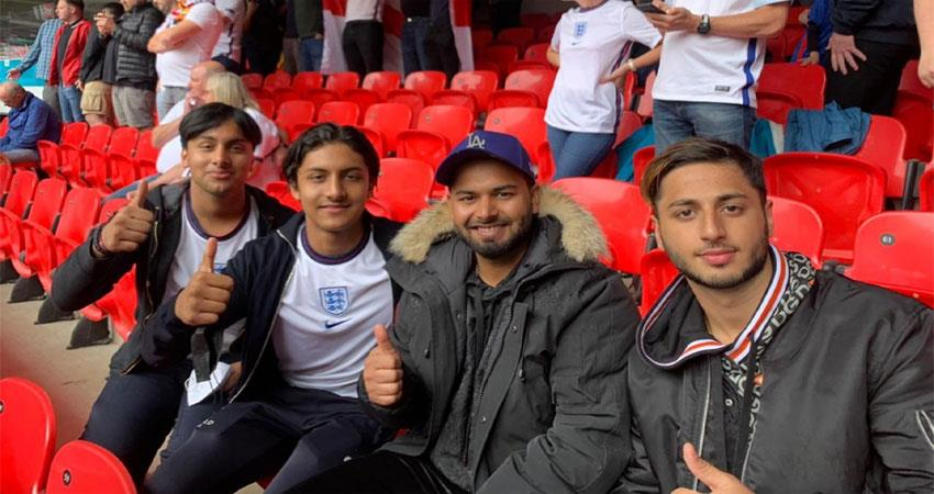 rishabh pant corona positive went to watch euro cup in uk  prshnt