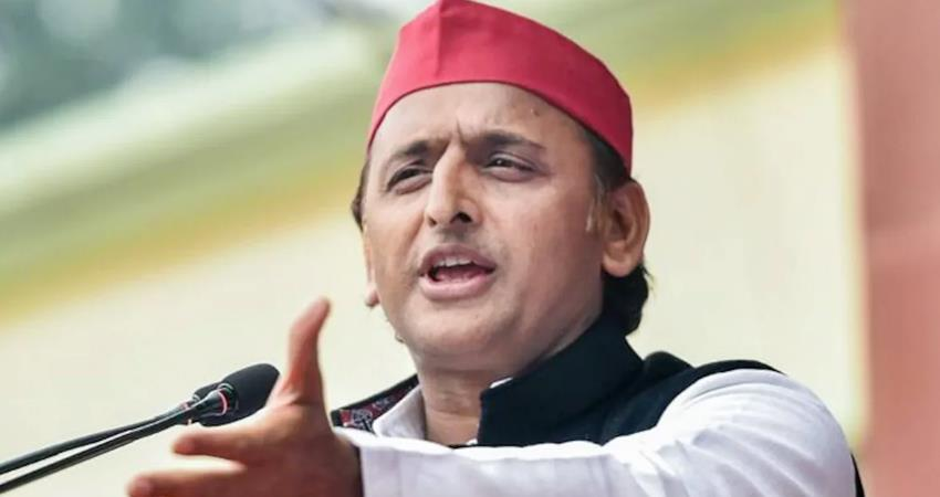 akhilesh yadav singhu border ruckus bjp''''s products have pelted stones at farmers prshnt