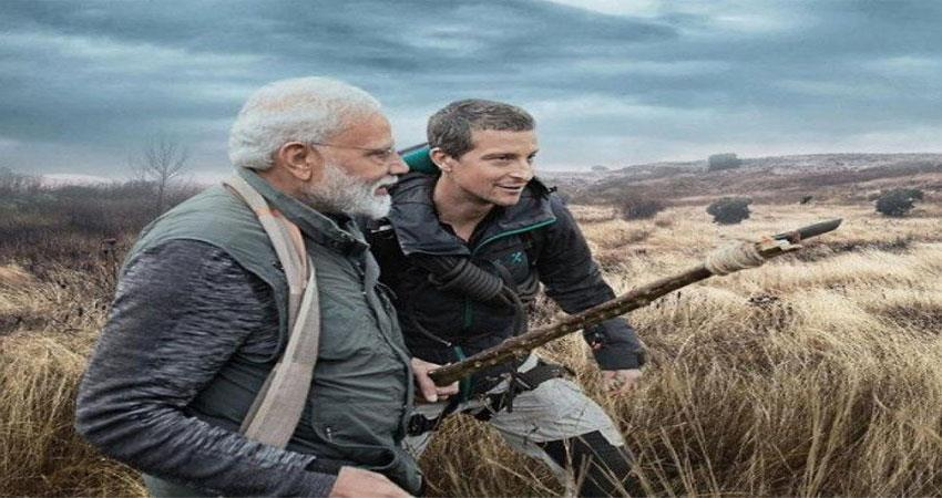 manvswild pm modi will be seen on the show tonight at 9 pm