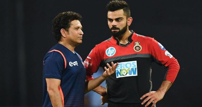Virat kohli Sachin Tendulkar BCCI Indian Cricket Sobhnt