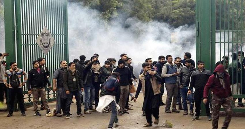 citizenship amendment act 2019 jamia students protest exam cancelled