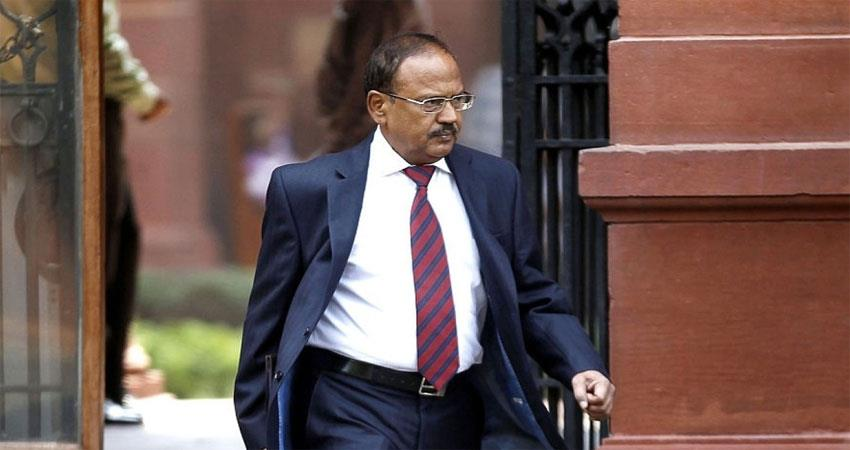 nsa ajit doval arrives to pacify delhi know why james bond of india is called