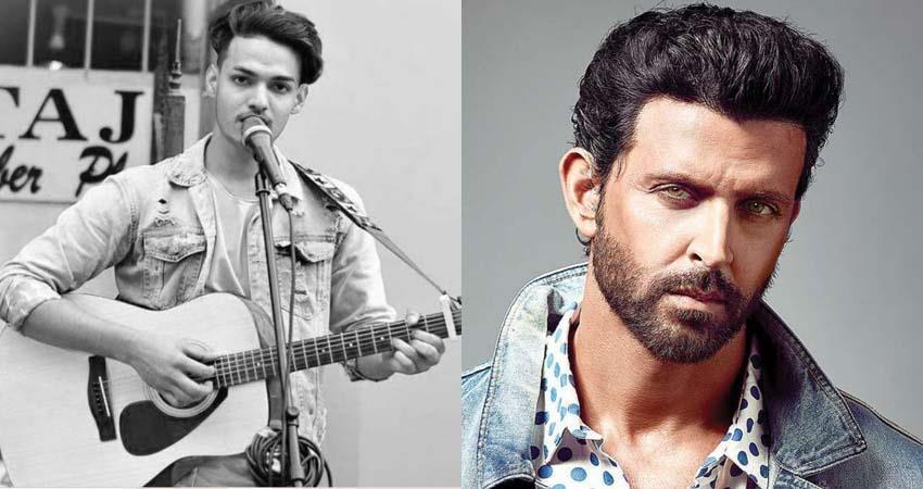 hrithik roshan praises young man playing jab koi baat on the streets sosnnt