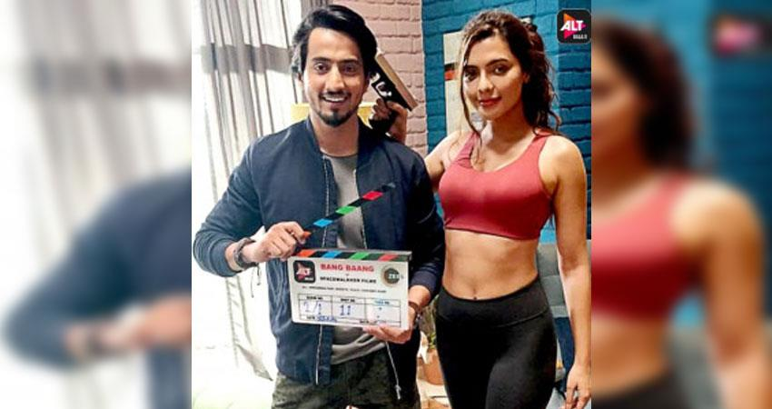 shooting of bang bang sounds of crimes of alt balaji and g5 club begins anjnst