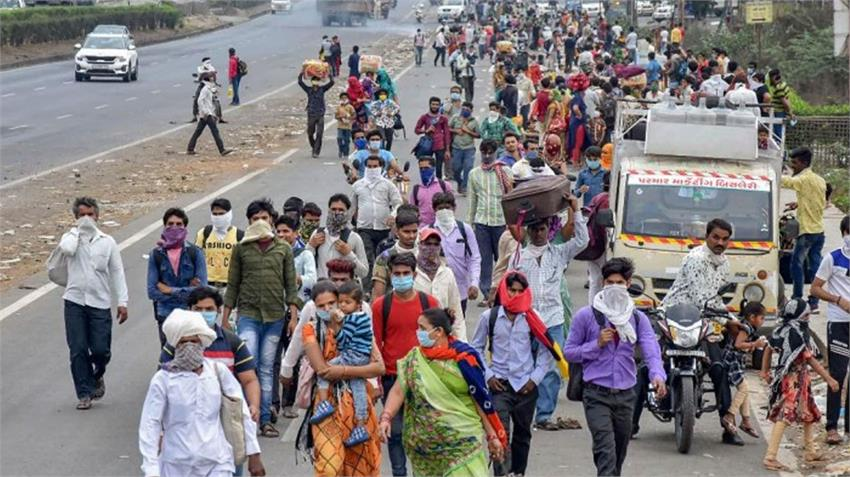 trains will alsoused bring laborers workers trapped lockdown, modi bjp govt allowed rkdsnt
