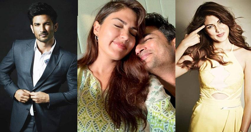 sushant singh rajput and rhea chakraborty love story and first meeting aljwnt