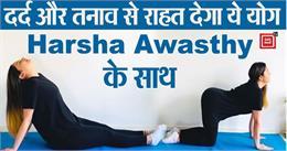शरीर के दर्द और लॉकडाउन के तनाव को दूर करेगा योगा, देखें एक्सपर्ट हर्षा अवस्थी का Exclusive Video