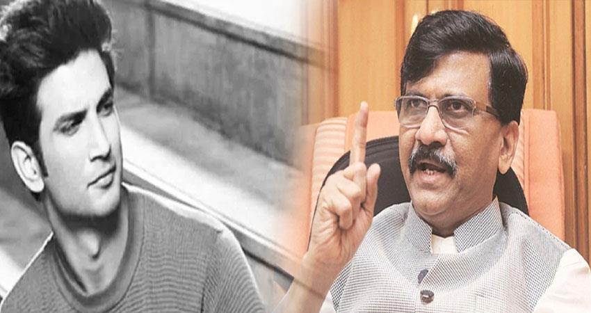 shiv sena reaction aditya thackeray name in sushant case pragnt