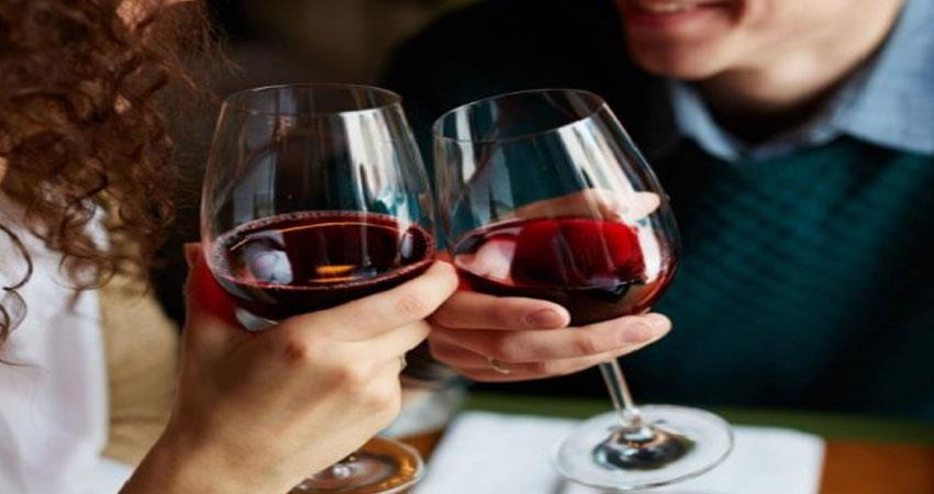 a glass of red wine can protect from many diseases read the story