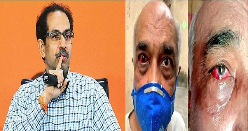 bjp-leaders-protest-madan-sharma-retired-navy-officer-shiv-sena-workers-mumbai-prsgnt