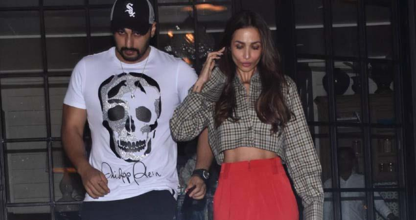 after covid recovery malaika and arjun spotted together sosnnt
