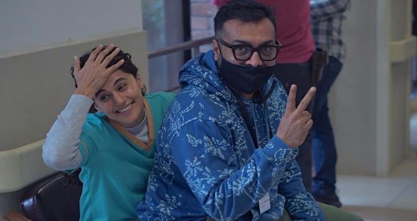 taapsee pannu and anurag kashyap started the shooting of dobara sosnnt