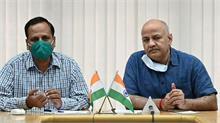 दिल्ली में बढ़ते कोरोना मामलों पर सतेंद्र जैन, सिसोदिया ने रखीं अपनी बातें