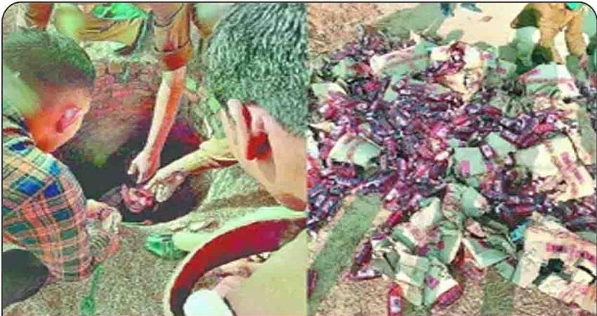 agra-city-well-dug-for-liquor-storage-in-the-village-filled-the-boxes-of-alcohol-prsgnt