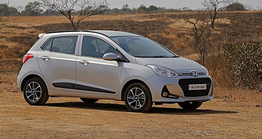 hyundai grand i10 will now be available with petrol engine and manual gearbox
