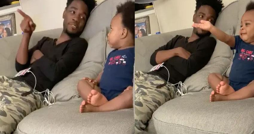 cutest-baby-talking-with-his-father-video-goes-viral