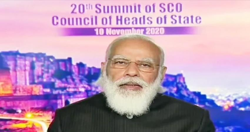 pm modi speaks at sco summit india raised voice against terrorism pragnt