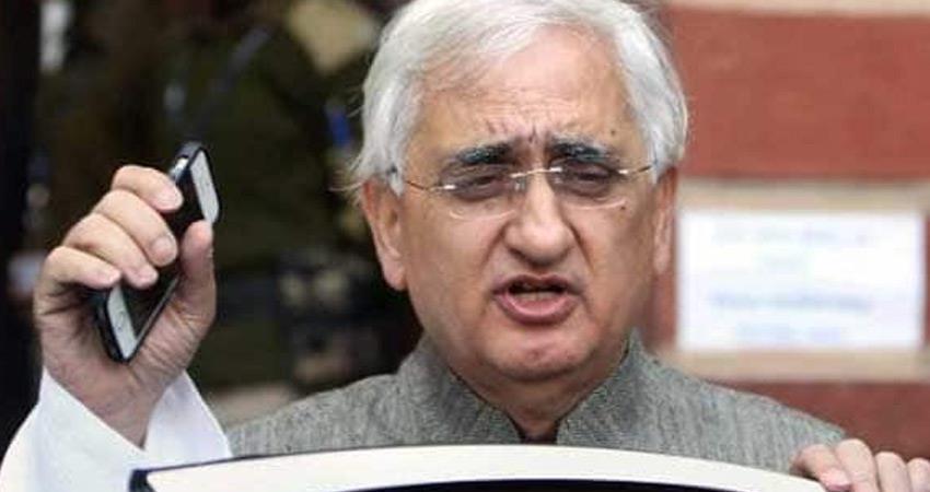 salman khurshid said priyanka gandhi is captain of congress in up bjp main rival rkdsnt