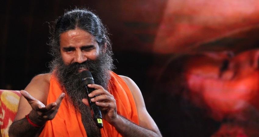 baba ramdev patanjli challenged, said no one father can arrest him rkdsnt