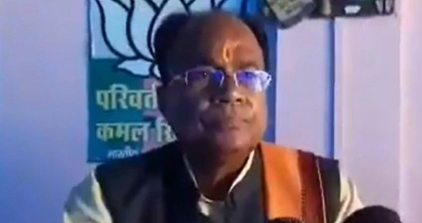 uttar pradesh audio leaked abusiving cm yogi adityanath accused bjp mla clarifies rkdsnt