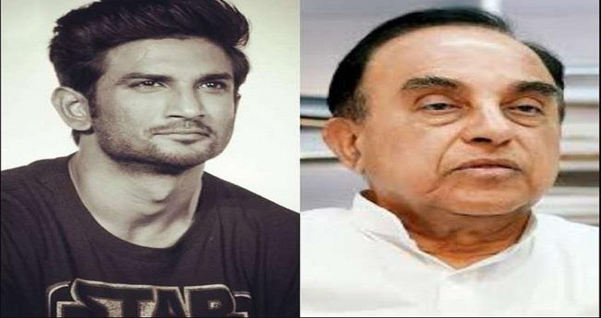 sushant-singh-rajput-suicide-case-subramanian-swamy-reveals-reason-behind-death-prsgnt