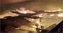 हिमाचल: शिमला के गांव में लगी भीषण आग, 16 परिवारों के घर जलकर राख